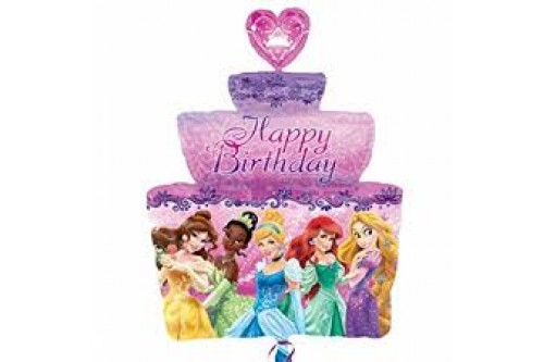 36 Inch Disney Princess Cake Balloon